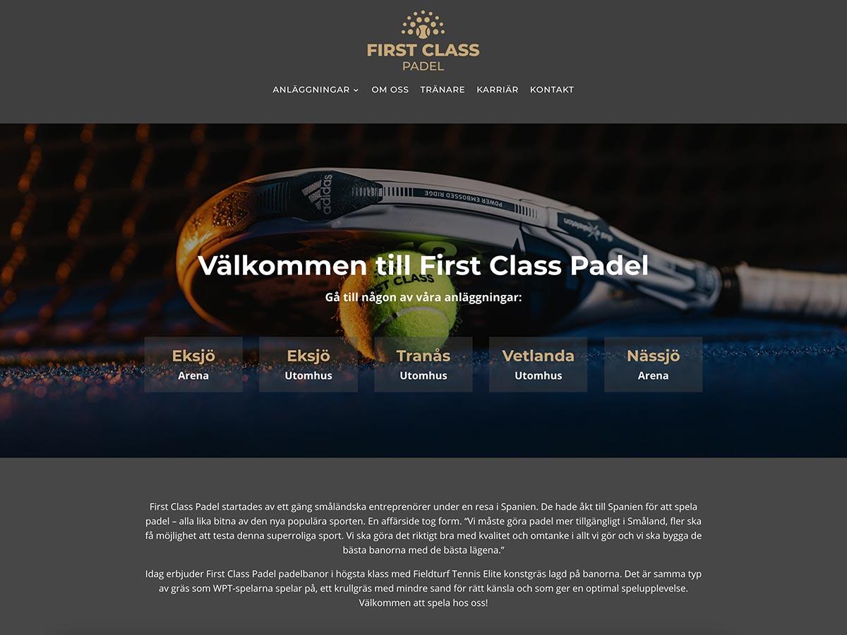 First Class Padel